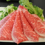佐賀牛レストラン季楽 - 肉、野菜盛、うどん(一人前)