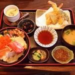 塚本鮮魚店 - 特上海鮮丼・天ぷら膳