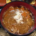 麦畑 - 料理写真:160920 カレーうどん