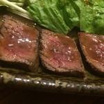 ハルコロ - 鹿肉ステーキアップ