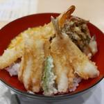きたむら - ミックス天丼(1296円)