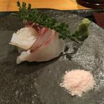 56329259 - お造り 真鯛 シマアジ マダコ