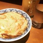 秋田料理 まさき - みょうが卵とじ