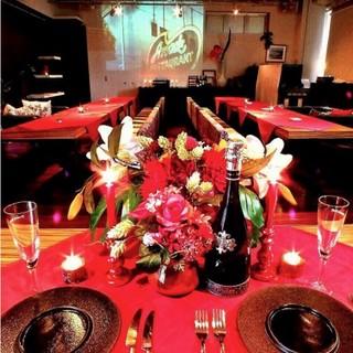 ソファー、個室、パーティーで貸し切りなど、様々な用途に対応!