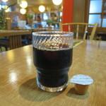 一力 - サービスのアイスコーヒー