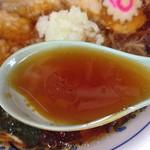 味幸 - チャーシュー麺(大盛り)900円(スープ)