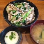 伝説のすた丼屋 - 料理写真:【2016.9.10】塩すた丼¥730