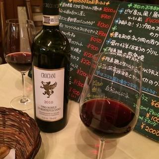 ~ソムリエお勧めのワインで料理とのマリアージュを~