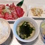焼肉 マヨン - ロース・ハラミランチ