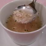 56334643 - [料理] スープの具材 アップ♪w
