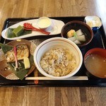 和膳 凛 りんび 薇 - 料理写真:栗おこわ御膳
