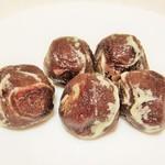 藤戸まんぢゅう  - 料理写真:藤戸饅頭。5個で350円