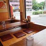 丸醤屋 - 小上がりの座卓