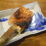 田楽 - 2016.9:豆腐の柚子味噌焼き