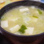 市場食堂 - 味噌汁