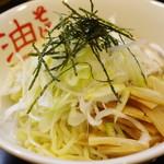 東京麺珍亭本舗 - 油そば