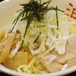 東京麺珍亭本舗 - 油そば(別アングル)