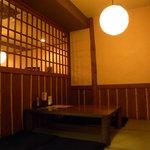 串焼き梅ちゃん - 座敷