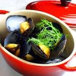 ヘブン - ムール貝の白ワイン蒸し