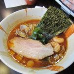 麺屋 優創 - 魚介味噌ラーメン880円