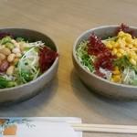 サガミ - マメサラダ&コーンサラダ