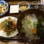 玄米食堂 ie - 2016.9 定食