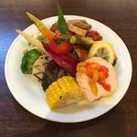 大扇食堂 - 前菜盛り合わせ