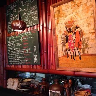 沖縄~アジア…旅する料理店。