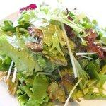 ツキ シュール ラメール - カジュアルランチ 1550円 のサラダ