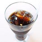 ツキ シュール ラメール - カジュアルランチ 1550円 のアイスコーヒー