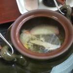 やひろ - 天ぷら定食(土瓶蒸し)
