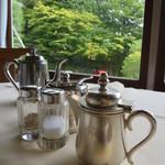 日光金谷ホテル - コーヒーはポットで