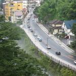 日光金谷ホテル - 窓からの景色