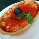 56350633 - トマト風味マスカルポーネのレアチーズ