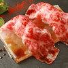 Teppan 我流 - 料理写真:厳選黒毛和牛の炙り肉寿司