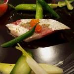 56354850 - 2016.9.カンパチのマリネ彩り野菜
