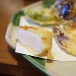天ぷら はせ川 - 断面