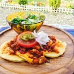 カフェナナラ - 料理写真:メキシカンパンケーキ【1100円】税別