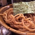 56357620 - #食べログ的に撮るとこうなる。                         極太胚芽麺の味わいも好印象。                         特盛りはさすがの量。オトーサン御満悦