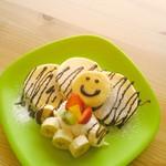 カフェナナラ - キッズチョコバナナパンケーキ【500円】税別