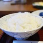 天ぷら はせ川 - ご飯