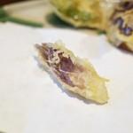 天ぷら はせ川 - ミョウガ