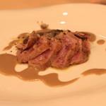 リストランテ エッフェ - セコンド・ピアット 強火で焼いた仔牛のヒレ肉