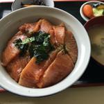 まるよし食堂 - かま漬け丼(アップ)