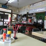 まるよし食堂 - 店内風景
