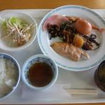 レストランあわしま - 料理写真:朝食一例