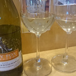 なんちゃってイタリアン縁 - アメリカ、カリフォルニアの白ワイン