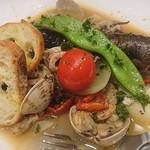 なんちゃってイタリアン縁 - 連子鯛のアクアパッツァ