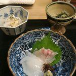 Kikumasa - お刺身と和え物