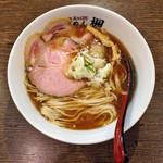 楓 - 秋の限定「煮干しらーめん」780円